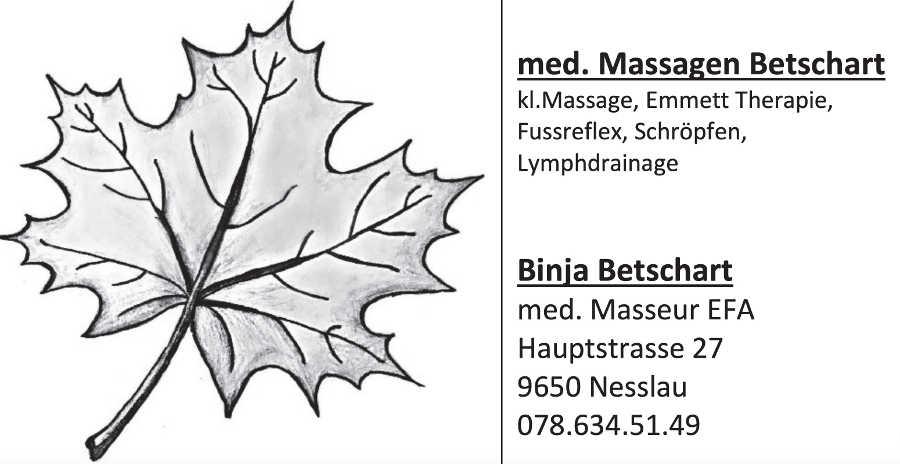 med. Massagen Betschart